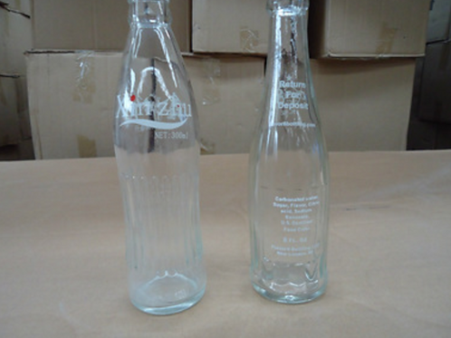 280ml sparkling water cola glass bottle