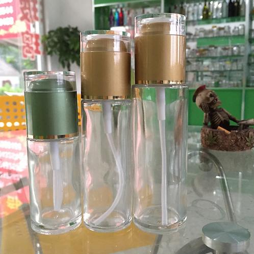 60ml 80ml 100ml 120ml Slim Cosmetic Glass Spray Bottle