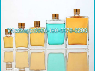 2021 glass liquor bottles with caps tamper evident 15ml 30ml 50ml 100ml 150ml alcohol mini bottle