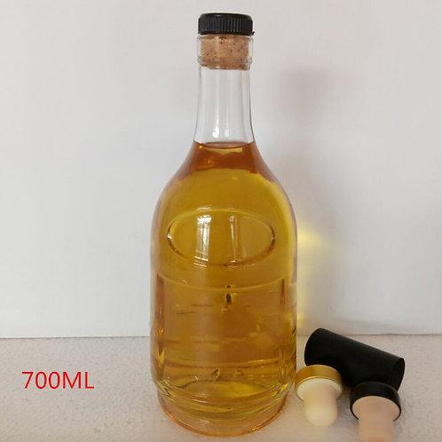 700ml premium whisky glass bottle