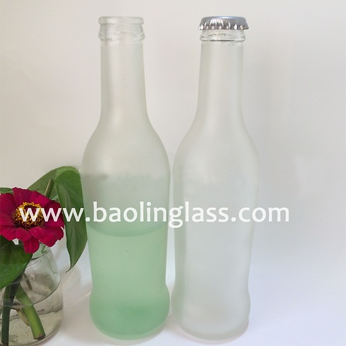 275ml rio frosted cocktail glass bottle