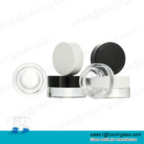 3g 5g Eye Serum Cream Glass Bottle for Skincare Product Packing