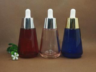 30ml 60ml glass dropper e liquid bottle