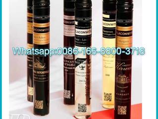 40ml 50ml 60ml 100ml high borosilicate Tube Wine Liquor Bottle With Aluminum Cap for liquor