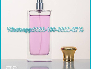 Hot selling 150ml Manufacturer high quality glass bottle for perfume with Aluminum spray cap