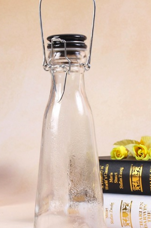 1 litre milk bottle with swing ceramic lid