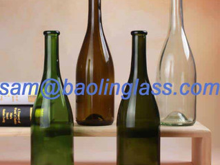 glass champagne bottles wholesale
