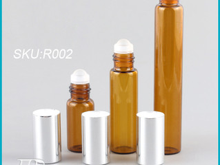 amber roller bottles for essential oils