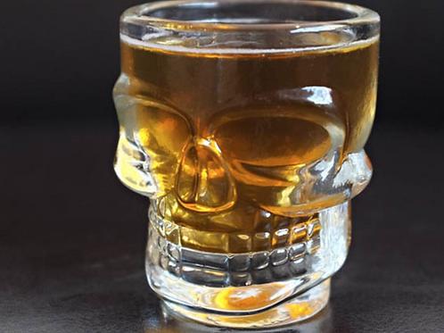 Wholesale Skull Head Vodka Shot Wine Glass Novelty