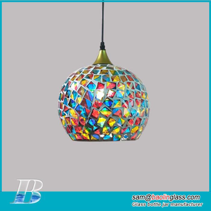 mosaic glass lamp shade manufacturer