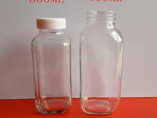 350ml 500ml  Kitchen Vintage Milk Bottle