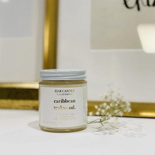 Caribbean Teakwood Petite Aurum Candle