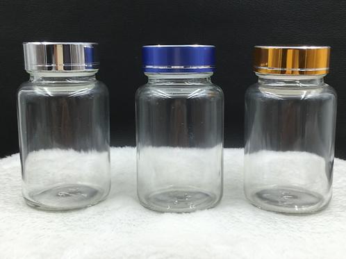 100ml tablets glass jar