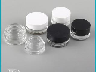 5G/5ML Round Clear Jars for Scrubs Oils Toner Salves Creams Lotions Makeup Samples Lip Balms