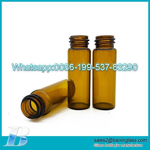 New Design 4ml Amber Glass Bottle Essential Oil Cosmetic Bottle