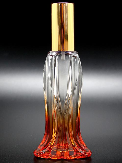 20ml fish tail gradients glass perfume jar