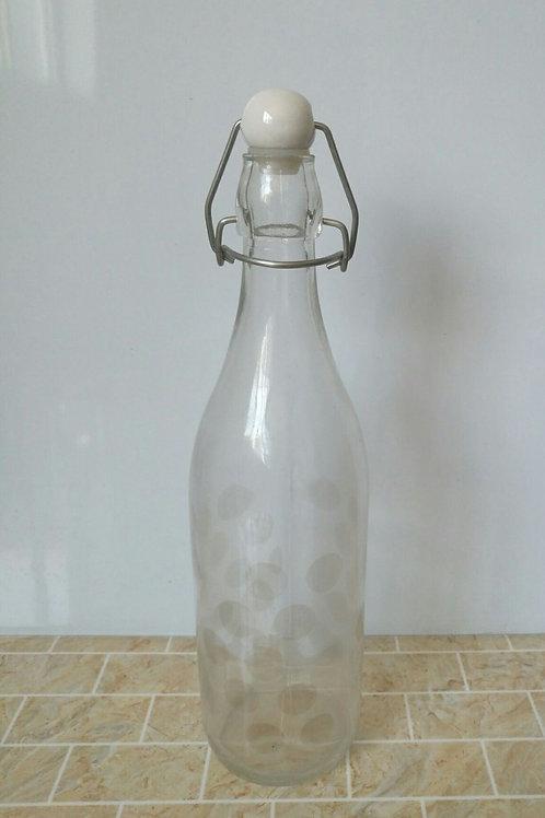 1000ml swing top beverage glass bottle