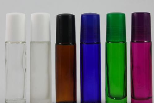 10ml roller on lip glass bottle mini perfume glass jar
