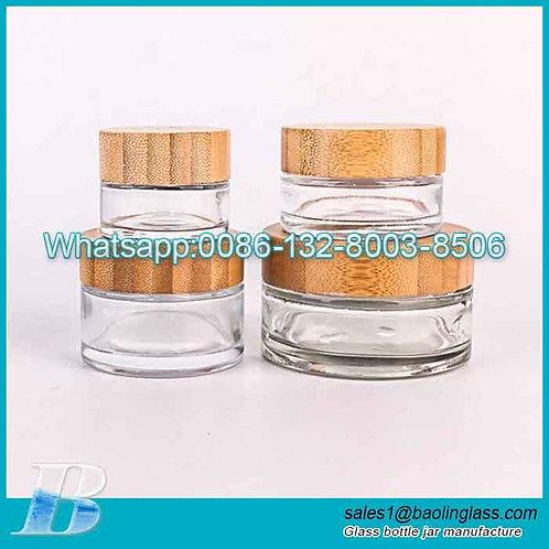 20g 30g 50g 100g glass cram jar