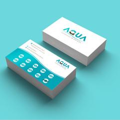Aqua Espresso branding
