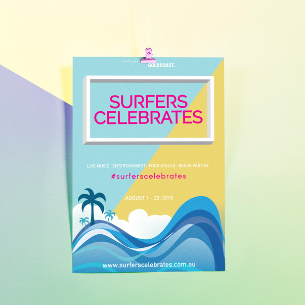Surfers Celebrates Poster