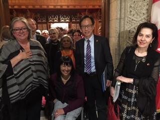 Independent Senators Group Celebrates the Passage of Bill C-210