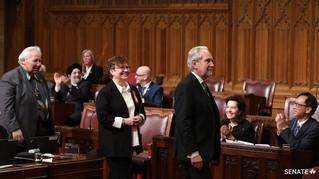 La sénatrice Yvonne Boyer accueillie au sein du Groupe des sénateurs indépendants (GSI)