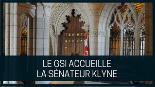 Le GSI accueille le sénateur Klyne