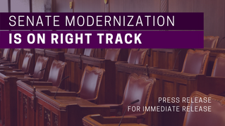 Poll confirms Senate modernization is on right track