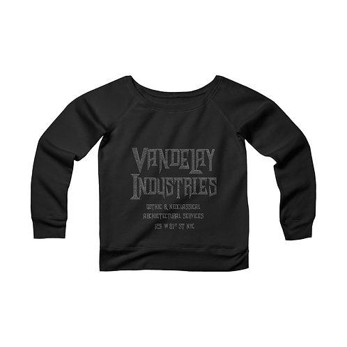 Vandelay Industries: Architecture [1] Women's Wide Neck Sweatshirt
