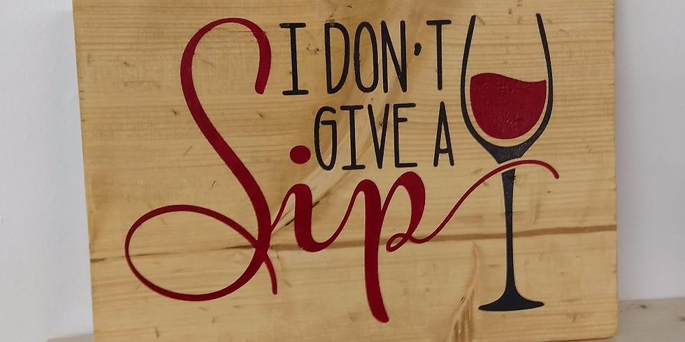 Wine & Sign!