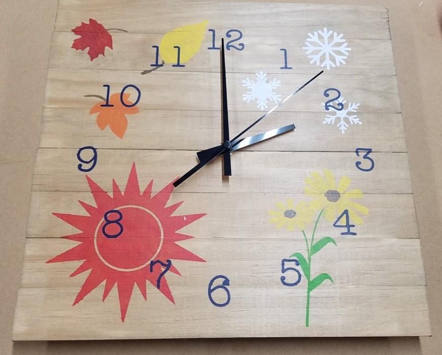 Clock - Seasons