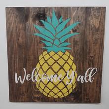 Pineapple Welcome Yall