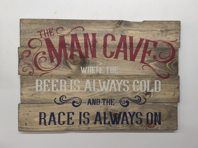 The Man Cave (Race)