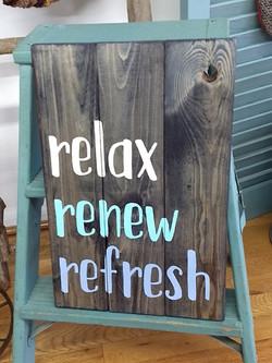 Relax Renew Refresh - vertical
