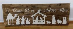 Nativity - O Come let us Adore Him