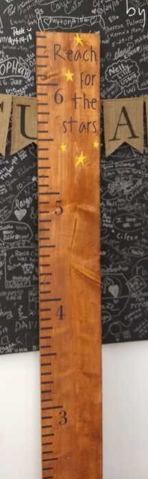 Growth Chart - Reach for the Stars