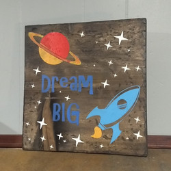 Dream Big - outer space