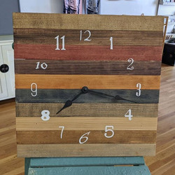 Clock - Mismatched Numbers