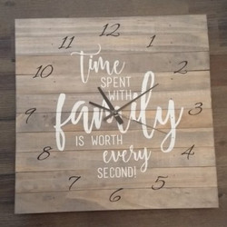 Clock - Time spent with family