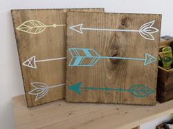 Arrows set of 3