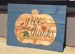 Give Thanks - Pumpkin