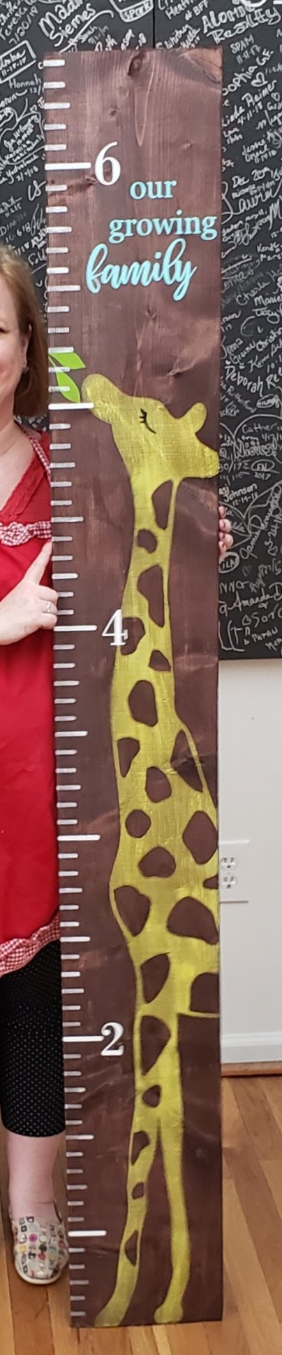 Growth Chart - Giraffe