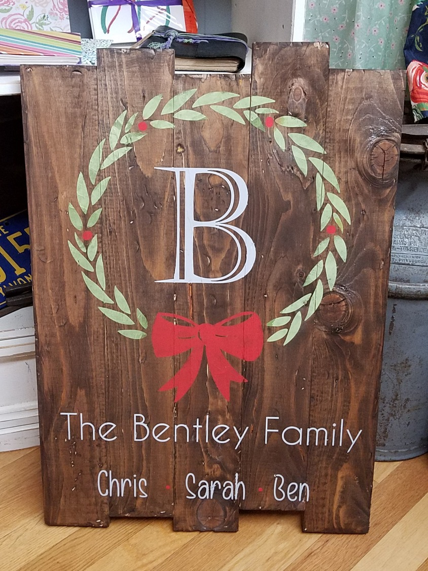 Holiday Wreath - Personalized