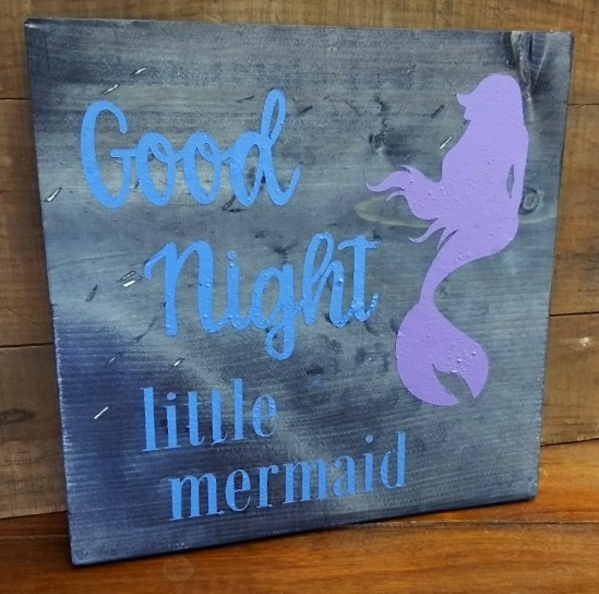 Good Night Little Mermaid
