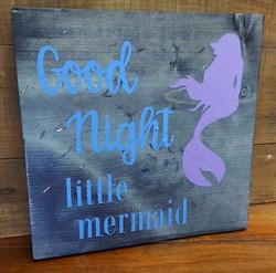 Good Night Little Mermaid