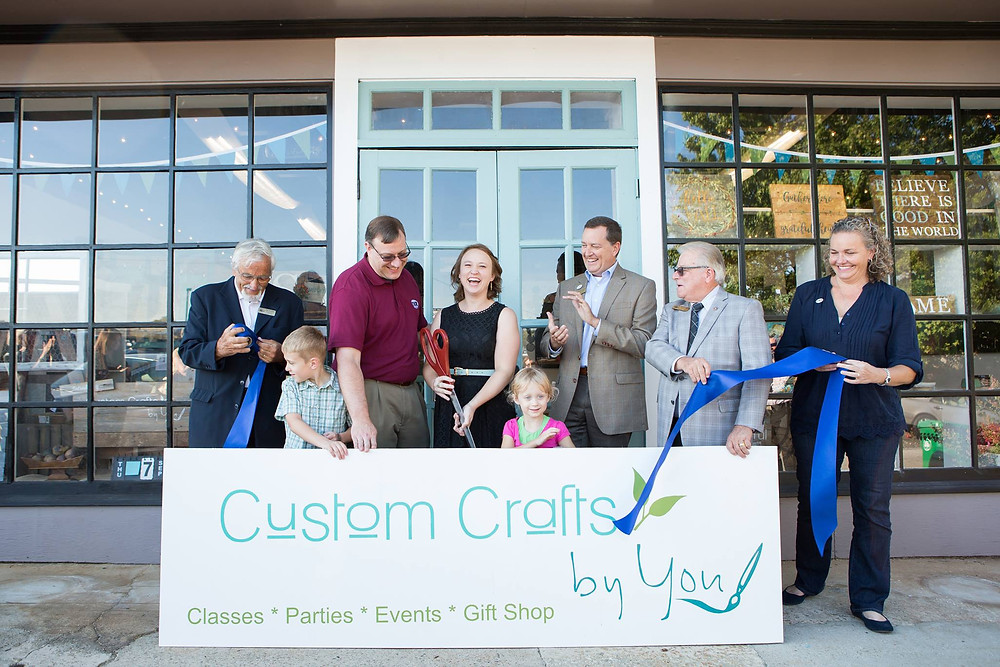Grand Opening and Ribbon Cutting 9-7-17, Photo Courtesy of Katie Anderson Wilson
