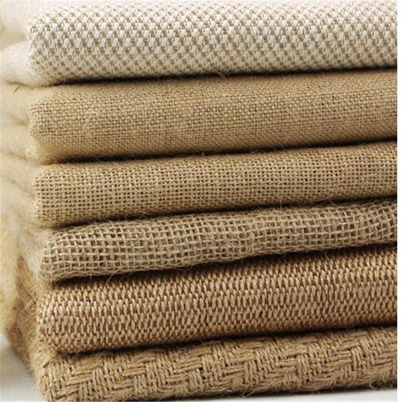 150cm width soft snowflakes fabric Natural Hemp Fabric linen ...