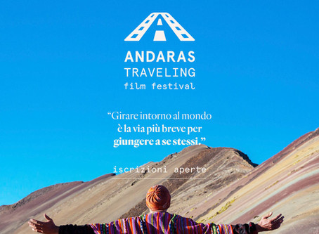 È online il bando della seconda edizione dell'Andaras Traveling Film Festival