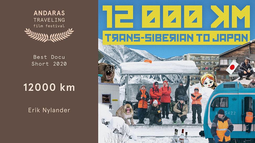 Andaras 2020 Best Docu-Short - 12000km.j
